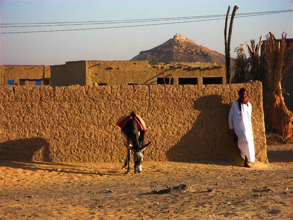 Фото. Город Донгола (Судан)