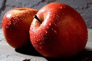 Фото. Красные яблоки