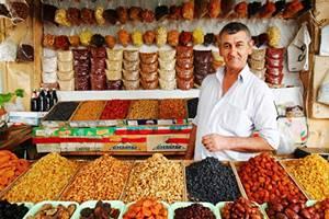 Фото. Сухие фрукты и орехи