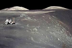 Фото. Энергия на Луне