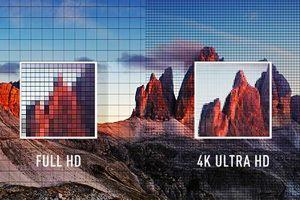 Фото. Сравнение разрешения 4К с HD