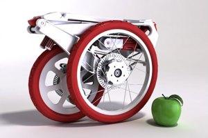 Фото. Малогабаритный велосипед