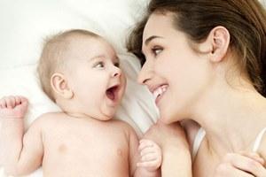 Женщина стала мамой