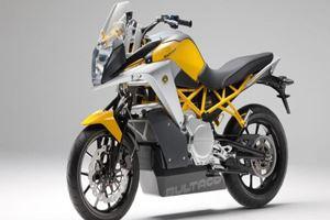 Новенький умный мотоцикл