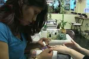 макияж ногтей