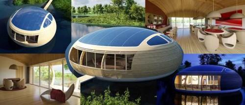 экологичное жилье на воде