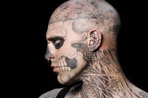человек-скелет