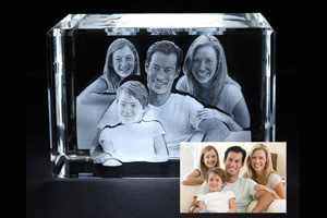 фото семьи в кристалле
