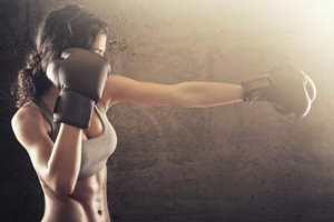 интенсивные тренировки и вес