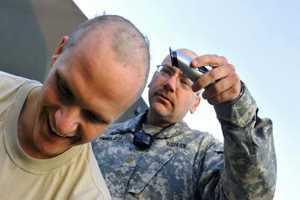 стрижка военнослужащих