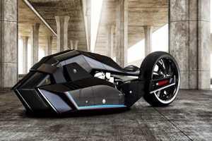 мотоцикл для Бэтмена