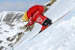 скорость лыжника