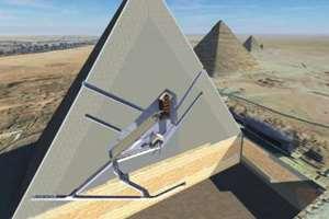 скрытые помещения в пирамиде