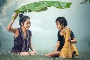 женщина из Бирмы