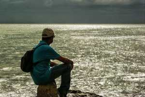 спокойное море