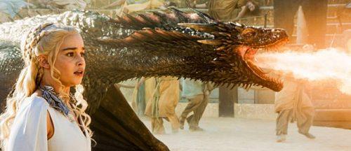 кхалиси со своим драконом
