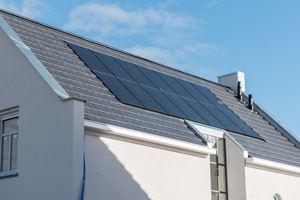 солнечные батареи на доме