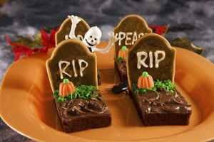 конфеты на Хэллоуин