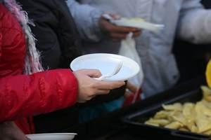 еда для нищих