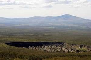 кратер в Сибири