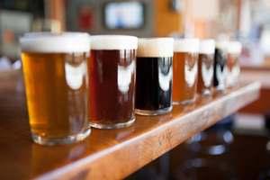 несколько сортов пива