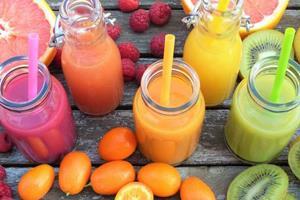 разноцветные соки