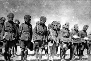 испытание газов Первой мировой войне