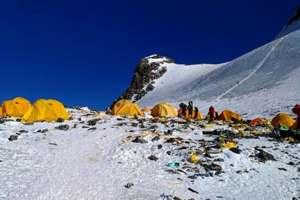 свалка мусора на Эвересте