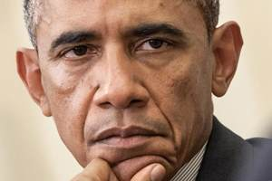 американский президент Обама