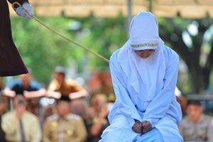 публичное наказании у мусульман