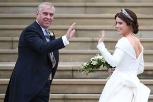на свадьбе принцессы Евгении