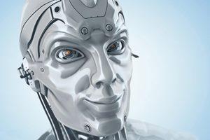 робот с человеческим лицом