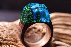 синеватое кольцо