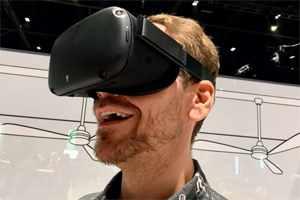 игрок Oculus Quest