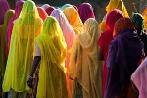похоронная процессия в Индии