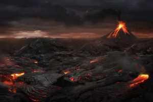 апокалипсис и вулкан
