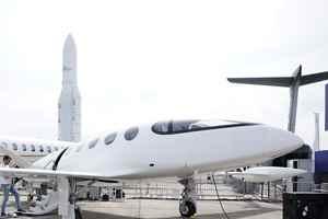 электрифицированный самолет