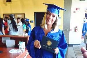 бывшая наркоманка получила диплом