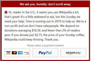 Википедия и деньги