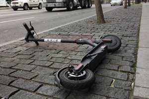 травмы от скутера